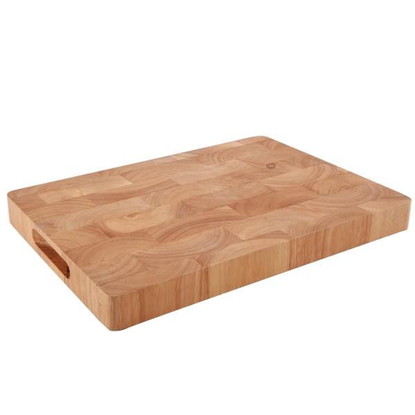 Prkénko gumovníkové dřevo 35x25x3,3 cm