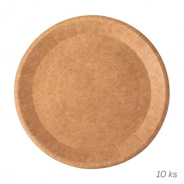 Mělký talíř NATURE pr. 22,5 cm  10 ks