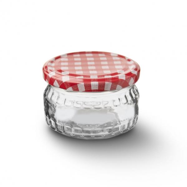 Zavařovací sklenice s víčkem 0,21 l