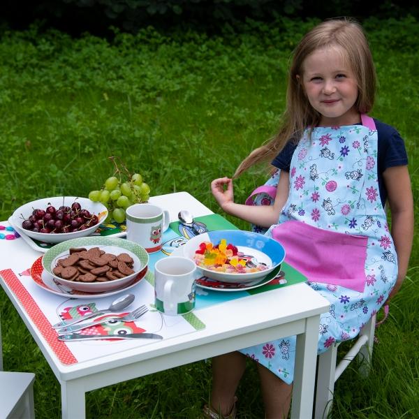 Hlboký detský tanier SOVA pr. 19 cm