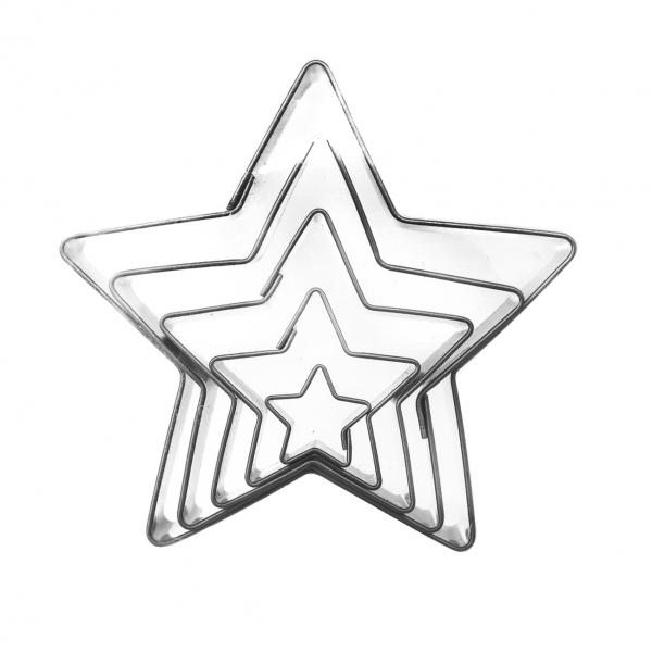 Vykrajovačka Hvězda 5 dílů