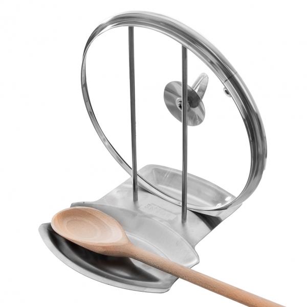 Stojan na kuchyňské náčiní a poklici
