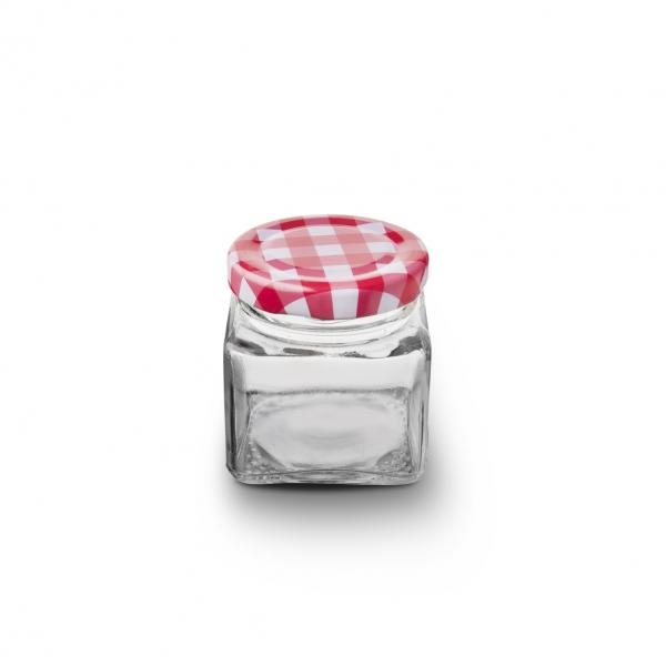 Zavařovací sklenice s víčkem 0,075 l 4 ks