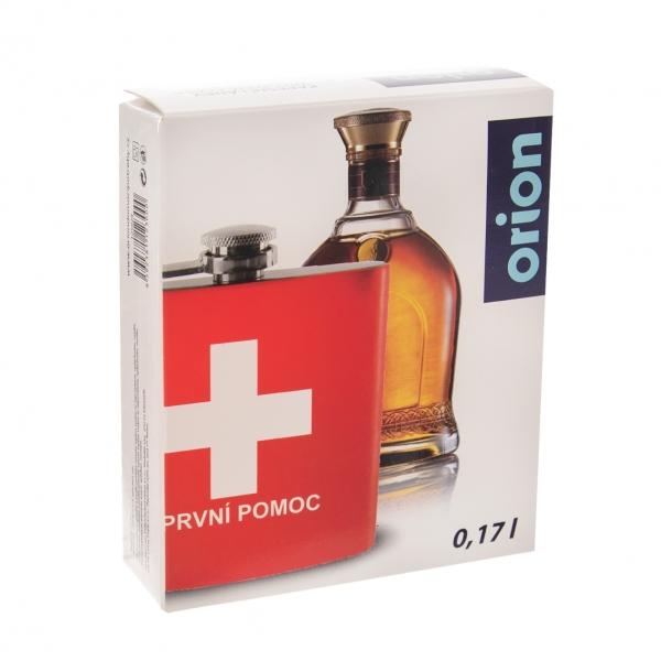 Kapesní láhev PRVNÍ POMOC 0,17 l
