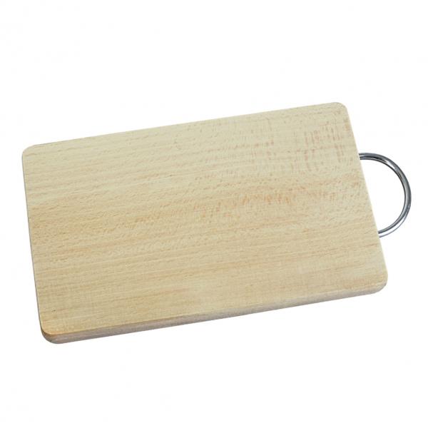 Prkénko dřevo/kov 33x22,5cm