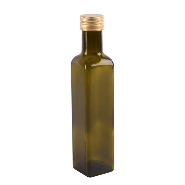 Láhev sklo+víčko OLEJ 0,25 l