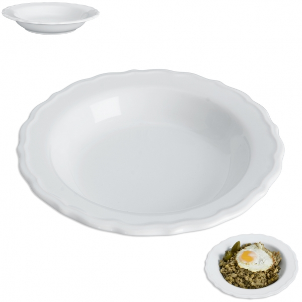 Hlboký tanier JULIET pr. 23 cm