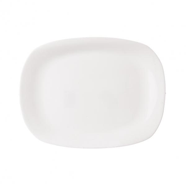 Talíř opal obdel PARMA 22x16cm