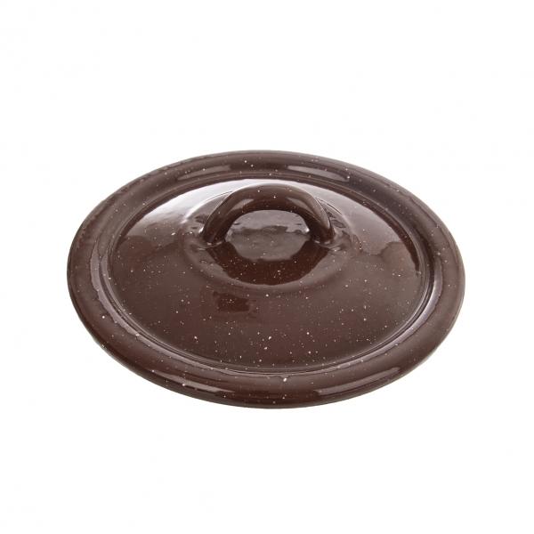 Poklice smalt BROWN 14 cm TM2