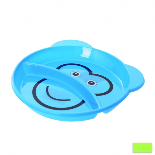 Mělký dětský talíř pr. 18 cm
