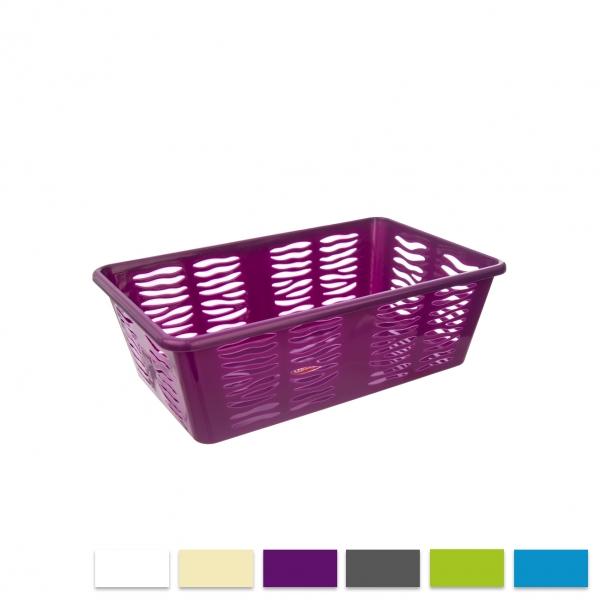 Košík UH ZEBRA 25x15,8x8,1cm ASS