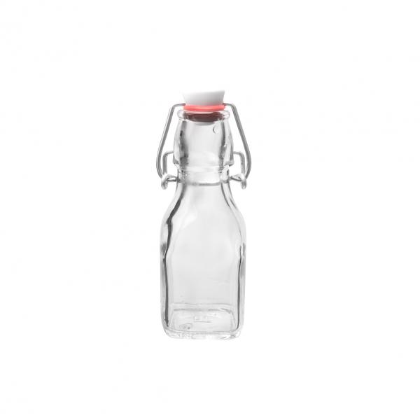 Láhev sklo CLIP uzávěr 0,125 l