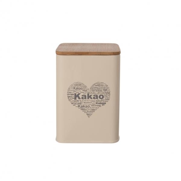 Dóza Kakao SRDCE 9,5x9,5x14 cm