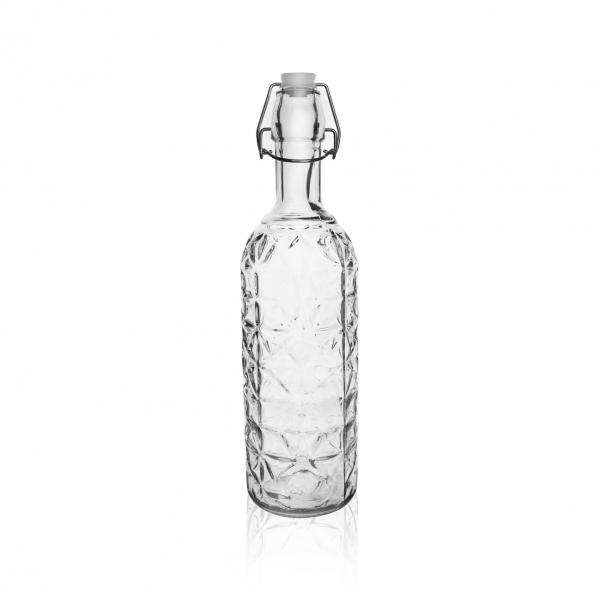 Láhev sklo CLIP uzávěr 0,75 l ELA