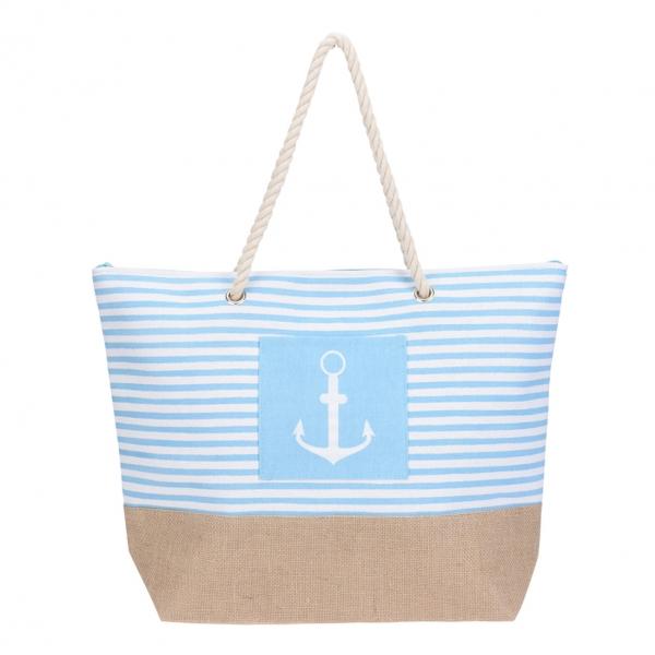 Taška nákupná a na pláž SEA 52x14 cm