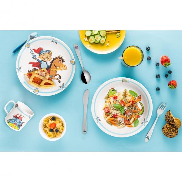 Jídelní dětská sada RYTÍŘ 3 díly