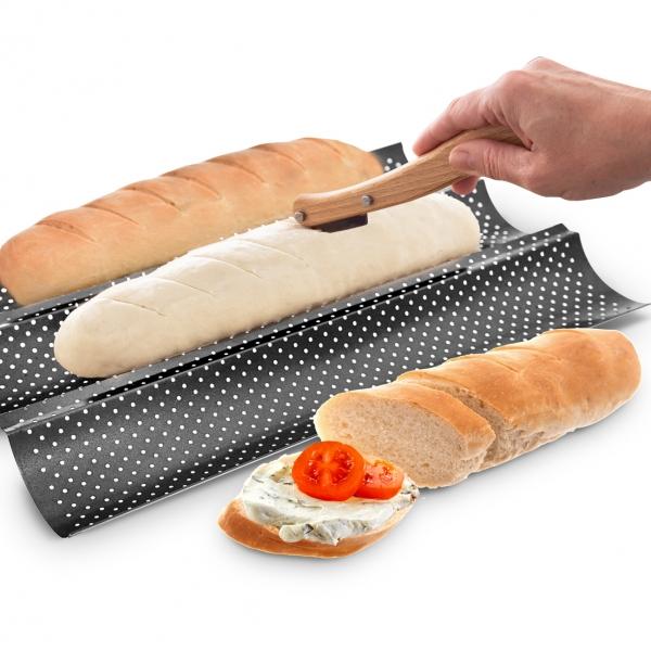 Nůž k nařezávání chleba s 5 žiletkami
