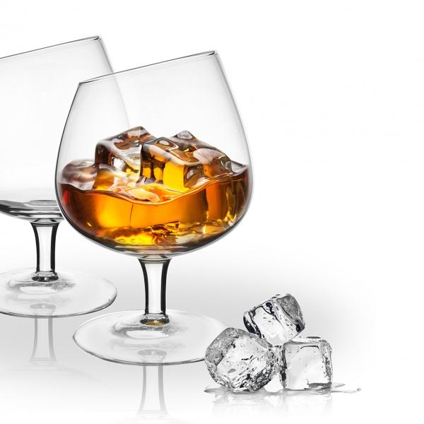 Sklenice na whisky EXCLUSIVE 0,42 l 2 ks
