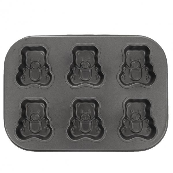Forma na pečenie 6 medvedíkov