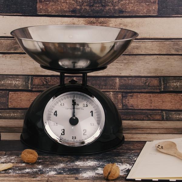 Kuchyňská váha mechanická s miskou Ema 5 kg