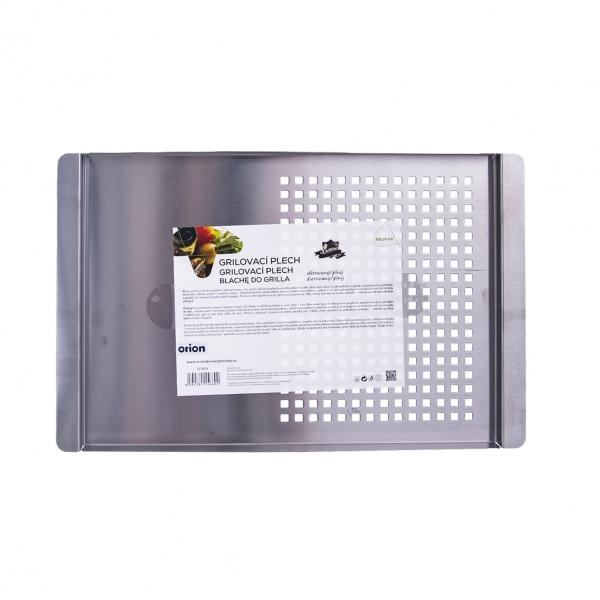 Plech grilovací 40x26x1,5 cm