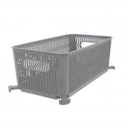 Košík NESTA stohovateľný 29x16,5x11,5 cm