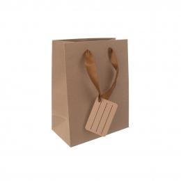 Dárková taška 18x23 cm NATURE