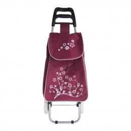 Nákupná taška na kolieskách KVET