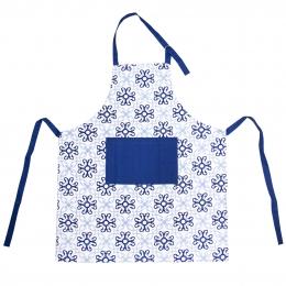 Kuchynská zástera BLUE SHAPES