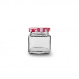 Zaváracie poháre s viečkom 0,05 l 5 ks