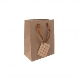 Darčeková taška 14x18 cm NATURE