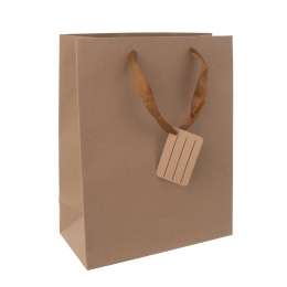 Dárková taška 26x32,5 cm NATURE
