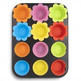 Forma na pečení 12 muffinů s košíčky