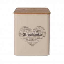Dóza Strouhanka SRDCE 11,5x11,5x14 cm