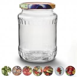 Zavárací pohár s viečkom 0,72 l