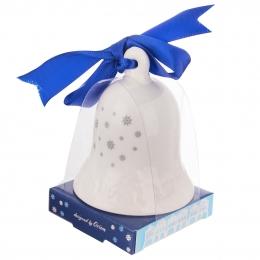 Zvoneček DOMKY modrá