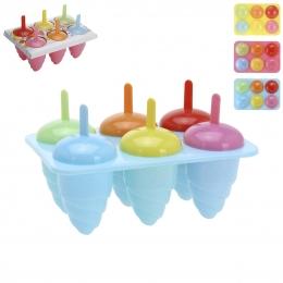 Forma na zmrzlinu 6 ks