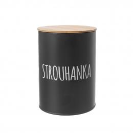 Dóza Strouhanka BLACK pr. 11 cm