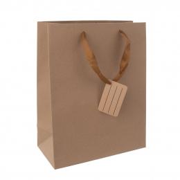 Darčeková taška 26x32,5 cm NATURE