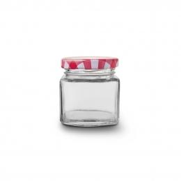 Zaváracie poháre s viečkom 0,075 l 4 ks