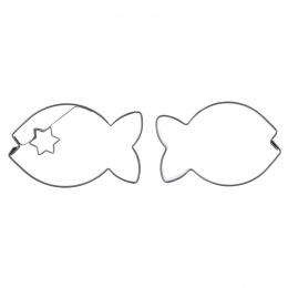 Vykrajovačka Ryba 2 diely