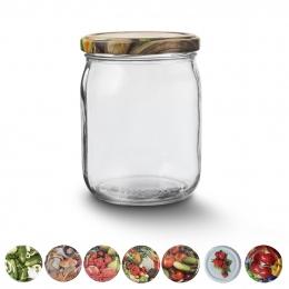 Zavárací pohár s viečkom 0,5 l