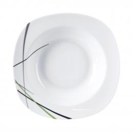 Hlboký tanier GREEN 21x21 cm