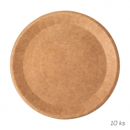 Plytký tanier NATURE pr. 22,5 cm 10 ks