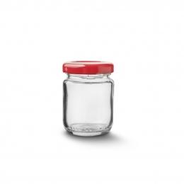 Zaváracie poháre s viečkom 60 ml 9 ks