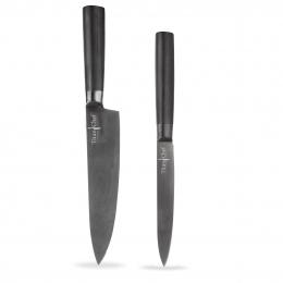 Kuchynský nôž TITAN s titánovým povrchom sada 2 ks
