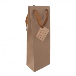 Darčeková taška 12x8,5x36 cm NATURE
