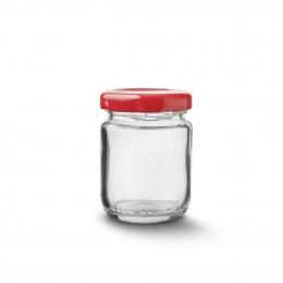 Zaváracie poháre s viečkom 80 ml