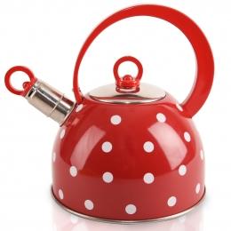 Čajník s píšťalou Karin 1,8 l
