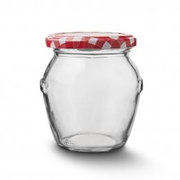 Zaváracie poháre s viečkom 0,5 l